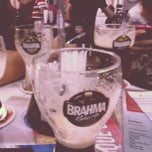 Photo taken at Quiosque Chopp Brahma by Nicholas J. on 12/15/2012