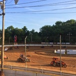Photo taken at Airport Speedway by Jason W. on 6/1/2014