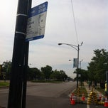 Photo taken at CTA Bus Stop - Clark & Glenlake by Gregg P. on 7/21/2013