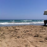 Photo taken at Playa del Tabal_La Manga by Pedro M. on 7/26/2014