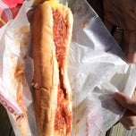 Photo taken at Eddie's Footlong Hotdogs by Mike J W. on 9/15/2012