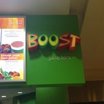 Photo taken at Boost Juice Bars by Nicholas T. on 3/1/2013