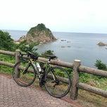 Photo taken at 城原海岸 by れい L. on 8/4/2014