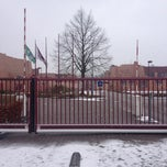 Photo taken at International School of Amsterdam by Adrian H. on 2/24/2013