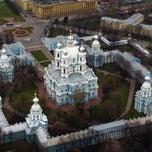 Photo taken at Факультет международных отношений СПбГУ (School of International Relations SPBU) by Esmira A. on 5/16/2013