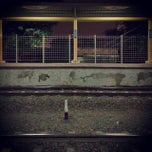 Photo taken at Stasiun Karet by Lisa T. on 10/6/2014