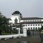 Photo taken at Lapangan Gasibu by Bagas R. on 10/7/2012