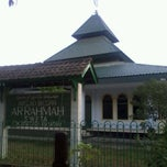 Photo taken at Masjid Ar-Rahmah Sweta by Gista H. on 9/17/2012