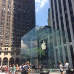Photo taken at Apple Store, Fifth Avenue by Tyler R. on 7/29/2013