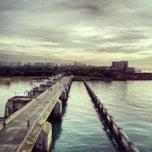 Photo taken at Marina Barrage by Ashley M. on 2/15/2013