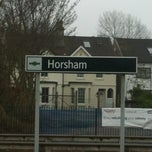 Photo taken at Horsham Railway Station (HRH) by Stacey F. on 2/26/2013