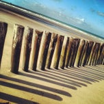 Photo taken at Blériot Plage by Moonsieur P. on 10/5/2012