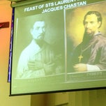 Photo taken at Chapel of Sts Jacques Chastan & Laurent Imbert by Stephen C. on 9/17/2014