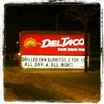 Photo taken at Del Taco by Amber M. on 1/12/2013