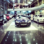 Photo taken at BMW АВТОDOM - СПб by Александр А. on 12/14/2012