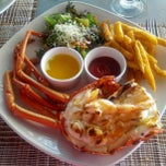Photo taken at Lobster Alive by ron d. on 2/14/2013