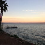 Photo taken at Sea of Galilee - Kinneret (כנרת) by Nikita S. on 2/4/2013