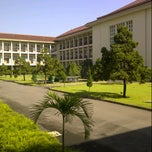 Photo taken at Gedung Pusat UGM by Anisya Dian C. on 3/20/2013