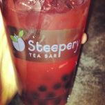 Photo taken at Steepery Tea Bar by Nico B. on 4/6/2013