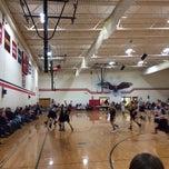 Photo taken at Vandercook Lake High School by Russell H. on 1/18/2014