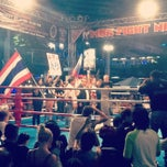 Photo taken at MBK Fight Night by candymad on 12/19/2012