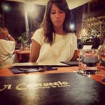 Photo taken at Trattoria Il Cantuccio by Davide L. on 8/11/2013