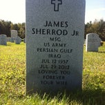 Photo taken at Albert G. Horton Jr. Memorial Veterans Cemetery by James S. on 10/20/2013