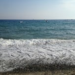 Photo taken at Spiaggia di Bova Marina - Zona Fairstar by Dani E. on 8/25/2013
