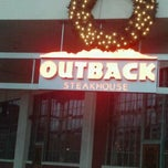 Photo taken at Outback Steakhouse by Dawn C. on 12/10/2012