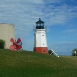 Photo taken at Vermilion Lighthouse by Amy K. on 6/22/2014