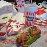 Photo taken at Portillo's Hot Dogs by Leo M. on 10/28/2012
