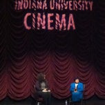 Photo taken at Indiana University Cinema by Chris M. on 1/18/2013