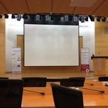 Photo taken at 고려대학교 백주년기념관 국제원격회의실 by Jungwon S. on 10/25/2012