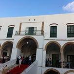 Photo taken at Palais Kobbet Ennhas by Moez B. on 7/5/2013