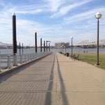 Photo taken at Waterfront Park by Sharon H. on 4/6/2013
