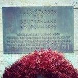 Photo taken at Gedenkstätte Deutscher Widerstand   German Resistance Memorial Center by Bó on 11/24/2012
