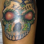 Photo taken at Damask Tattoo by Nelson on 5/8/2014