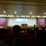 Photo taken at Auditorium BINUS University by Anastasia Y. on 4/9/2013