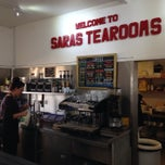 Photo taken at Sara's Tearooms by Mark H. on 6/17/2014