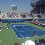 Photo taken at Court 5 - USTA Billie Jean King National Tennis Center by Nick S. on 8/27/2014