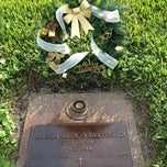 Photo taken at Forest Lawn Cemetery by Jhalf on 1/1/2013