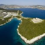 Photo taken at Hilton Bodrum Türkbükü Resort & Spa by Nico C. on 10/13/2012