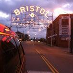 Photo taken at Downtown Bristol by Kris on 10/10/2012