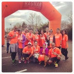 Photo taken at Ragnar Relay: Cape Cod - Finish Line by asa s. on 5/11/2014