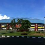 Photo taken at Jakabaring Sport City (JSC) by yudistira c. on 3/22/2013