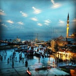 Photo taken at Hamdi Restaurant by Yasemin Turan on 1/26/2013