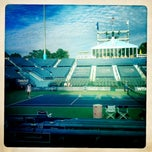 Photo taken at Connecticut Tennis Center by Ben B. on 8/20/2012