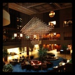 Photo taken at Sheraton Kansas City Hotel at Crown Center by Brian S. on 4/3/2012