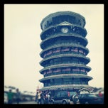 Photo taken at Menara Condong (Leaning Tower) by Saiful D. on 8/20/2012