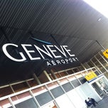Photo taken at Genève Aéroport (GVA) by Driss A. on 5/22/2012